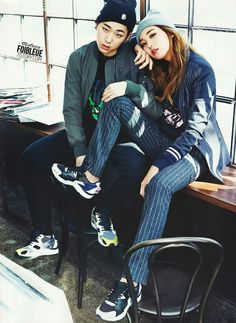 Zico and Lee Ho Jung