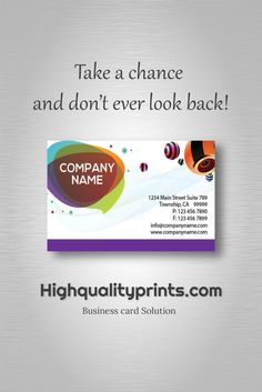 1000+ business card design - Browse and order! http://bit.ly/1XsswGB  Take a chance and don't ever look back!