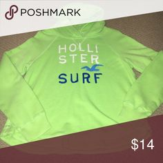 Hollister pullover hoodie Great condition! Size Small. Had a draw string but it has been taken out. Hollister Jackets & Coats