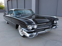 Awesome 1959 Cadillac DeVille, Black/Black and Cream Interior