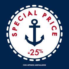 Special Price -25% Aproveite uma grande seleção de produtos da nova Coleção Spring/Summer 15 com 25% de desconto. www.lionofporches.com