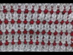 knitting rib stitch colour