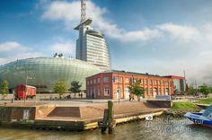 nice Fotografie »Klimahaus @ Bremerhaven 06«,  #Bremerhaven #Stadtansichten