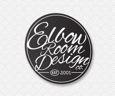 New! Elbowroom Design logo.