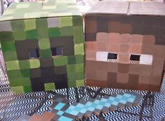 """Mining, video games """"Minecraft"""" Birthday Party Ideas 