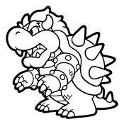 Coloring page Mario Bros and Luigi (Nintendo)   4732