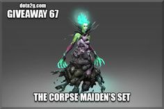 Giveaway 67 - The Corpse Maiden's Set