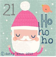 dottywrenstudio: advent calendar...day 21