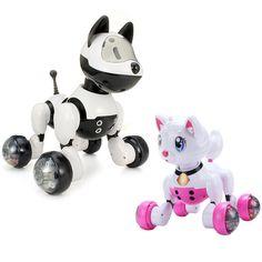 Electric Voice Control Dancing Robot Smart Dog Intelligent Simulation Dog
