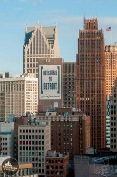 Detroit ! Detroit Skyline, Detroit Rock City, Motown, Great Lakes, Running Away, Growing Up, Michigan, To Go, Usa
