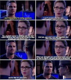 Arrow - Felicity & Oliver #3.16 #Season3 #Olicity ♥♥♥