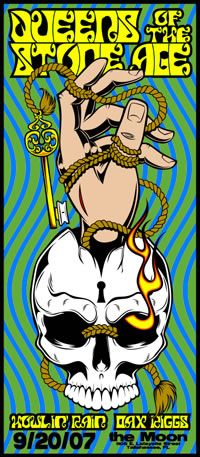 Queens of the stone age poster #qotsa 20-9-2007