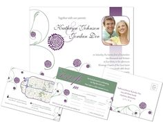 Custom designed wedding invitationMDesign 218.512.0221