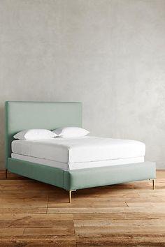 Linen Edlyn Bed - Spearmint