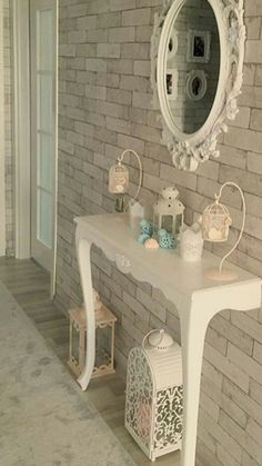 home decor quotes project hd 501 dezign ark beta Cute Home Decor, Home Decor Items, Home Decor Accessories, Casa Magnolia, Tranquil Bedroom, Muebles Shabby Chic, Living Room Decor, Bedroom Decor, Painted Brick Fireplaces