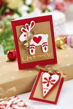 Use air dry clay to create stand-out embellishments / Crafts Beautiful, December 2015 / Photo: cliqq.co.uk