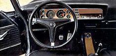 Ford Capri Mk 1 - Behind the Wheel