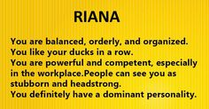 """This is how I was described on """"Your Name's Hidden Meaning"""", not me at all. it must be hidden very well. What Is Your Name, My Name Is, Verona, Rambo 3, Names With Meaning, Good To Know, Workplace, Meant To Be, Personality"""