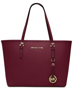 MICHAEL Michael Kors Handbag, Jet Set Travel Small Tote - Michael Kors Handbags - Handbags & Accessories - Macy's