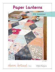 Paper Lanterns  Free Pattern-Sharon Holland