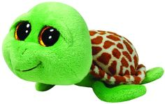 Ty Beanie Boos Zippy Green Turtle Plush - The world famous Beanie Babies Beanie Boos are forever filled with fun. Ultra iconic, ever loved. Ty Beanie Babies are the best. Ty Beanie Boos, Beanie Babies, Large Beanie Boos, Ty Babies, Mini Buggy, Ty Peluche, Ty Toys, Turtle Plush, Green Turtle