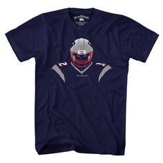 7448aedd939 New England QB Silhouette T-Shirt New England Football