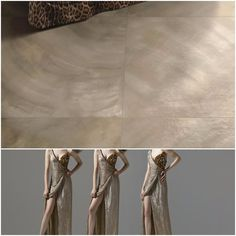 The trends in fashion always set the tone for home interiors. Starting our new 30-day series, #30daysofFashionMeetsTile today! A porcelain tile with a brush stroke pattern, a metallic sheen, and soft neutrals clearly mimicking the fluidity in the gown.  #tiles #robertocavalli #tiledesign #tileaddiction #tilefloor #tiletrends ##homeimprovement #homeinspiration #interiordesign #interiors  #interiordesigner #interior #interiorforhome #interiorlovers #interiorgoals  #fashiondaily #fashioninspo