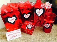 Senses gift for him! Anniversary, Valentine's Day!