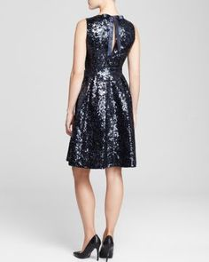 kate spade new york Sequin Dress | Bloomingdales's (give me) so #chic #cute #sparkle