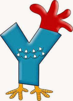 Art'sanália : Alfabeto da galinha pintadinha!