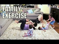 This is What Working Out with Three Kids Looks Like «TwistedSifter