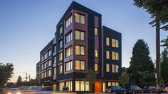 The Kiln Apartments of Portland, Oregon are positioned to be one of the largest mixed-use, multi-family buildings at such a high energy efficiency standards.