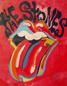 Arte em comemoração dos 50 anos dos Stones semana passada.