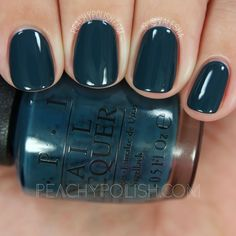OPI CIA = Color Is Awesome | Fall 2016 Washington D.C. Collection | Peachy Polish