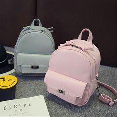Designer Women Backpack For Teens Girls Preppy Style Solid fashion Girls Sch. - Bag for teens -New Designer Women Backpack For Teens Girls Preppy Style Solid fashion Girls Sch. - Bag for teens - Bags For Teens, School Bags For Girls, Girls Bags, Cute Mini Backpacks, Trendy Backpacks, Backpack For Teens, Backpack Bags, Fashion Bags, Fashion Backpack
