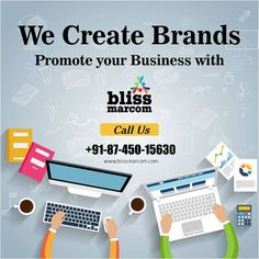 At Bliss Marcom, we provide custom tailored digital marketing services to recreate your brand image and get you ahead of your competition. Get in touch with us for strategic and creative brand marketing services in Delhi NCR. Marketing Tactics, Marketing Training, Digital Marketing Strategy, Marketing Plan, Content Marketing, Internet Marketing, Online Marketing Services, Creative Advertising, Creating A Brand