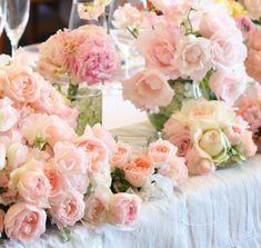 桜色 シェ松尾天王洲倶楽部様の装花 : 一会 ウエディングの花