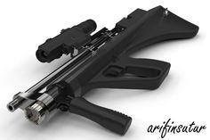Bullpup Pcp Air Rifle - Other - 3D CAD model - GrabCAD