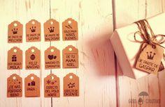 Frases para etiquetas regalo navidad pineado por www.estrellasdeweb.blogspot.com