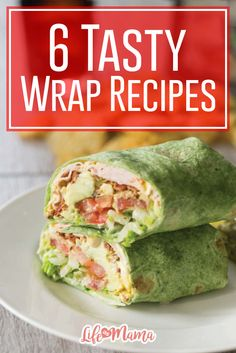If you're looking for a new wrap recipe to try, these are simple, unique and yummy all at the same time!