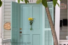 loving beachy places...shuttered door..