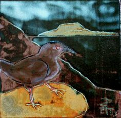 Clare Island Crow Clare Island, Ceramic Artists, Crow, Ceramics, Landscape, Drawings, Pictures, Painting, Animals
