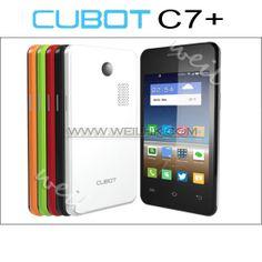 Cubot C7+ 3.5'' MTK6572M Dual Core 1.3GHZ Android 4.2 GSM Dual SIM Smart Phone Dual Camera Unlocked FreeShipping CB0623