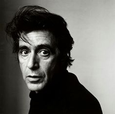 """PACINO by IRVING PENN """"Peter Marzio, director of the Museum of Fine Arts, Houston said: """"Irving Penn's photographs are icons that provide a fascinating record of cultural and economic trends in America"""" - Art Democracy´s album IN BLACK & WHITE"""