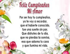 Happy Birthday My Love, Happy Birthday Wishes, Amor Quotes, Crush Quotes, Life Quotes, Birthday Quotes, Birthday Cards, Word Of Faith, Love Phrases
