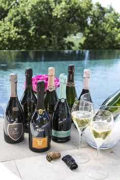A springtime Aperitivo party with lots of sparkling wine!