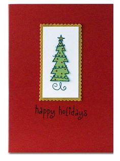 Hampton Art Happy Holidays Tree Card by Diana Kovacs Holiday Tree, Holiday Decor, Hampton Art, Christmas Cards, Christmas Ornaments, Creative Cards, Happy Holidays, Cardmaking, Diana