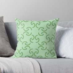 Buy Pillows, Throw Pillows, Cozy House, Original Art, Cushions, Bright, Pattern, Prints, Color