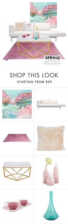 """Spring will come..."" by farnazarsalann ❤ liked on Polyvore featuring interior, interiors, interior design, home, home decor, interior decorating, Cyan Design, PiP Studio, H&M and Ted Baker"