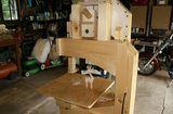 Mikiono's three wheeled bandsaw